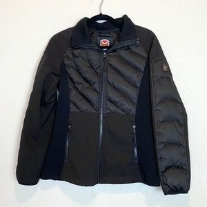 1 Madison Down Feather Filled Quilted Puffer Coat